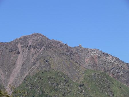 展望台から普賢岳