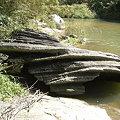 写真: 蛇巻岩
