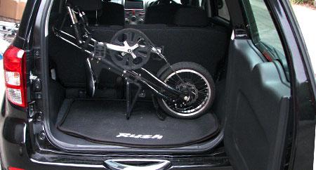 かっこいい激安軽量折り畳み自転車