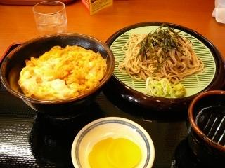 かき揚丼と蕎麦セット