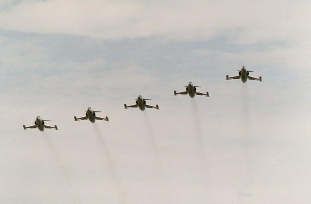 203飛行隊 F-104の編隊飛行
