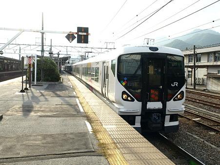 E257系中央本線(大月駅)1