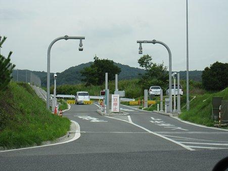 吉備SAスマートIC(出口)