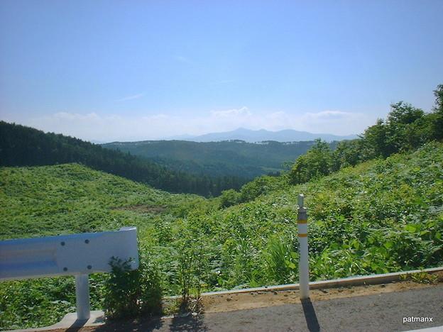 【北部上北広域農道】無線中継所付近の風景