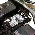 写真: 純正バッテリーはVARTA