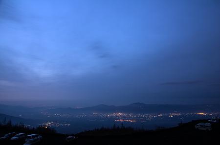 須走口五合目からの眺め1