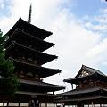 写真: 法隆寺 入場は千円