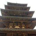 写真: 法隆寺 五重塔