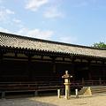 写真: 法隆寺 絵殿・舎利殿