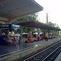 【タイ】ロッブリー Lopburi 2008 [33] 駅は人々の集まる生活の場でもある