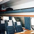 【スカンジナビア】X2000乗車|ストックホルム→コペンハーゲ 2005 [02]|車内の様子