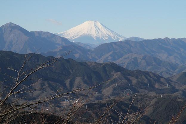 Photos: 110131-115高尾山山頂からの富士山