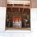 Photos: 110508-56拝殿の中