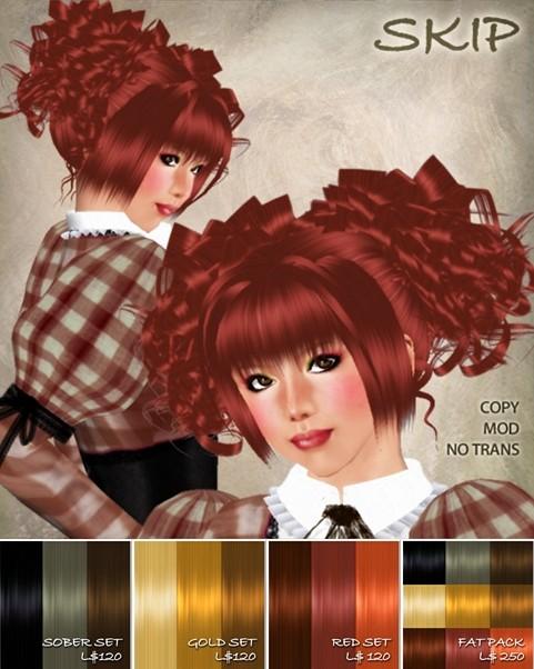 ROSY MOOD hair / Skip