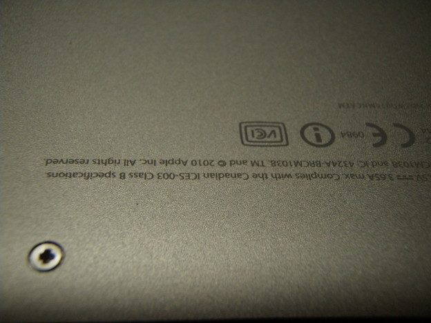 MacBook Pro - ネジ_P5160016
