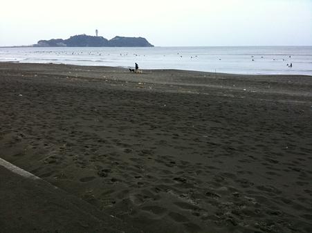 スケートパークから江ノ島