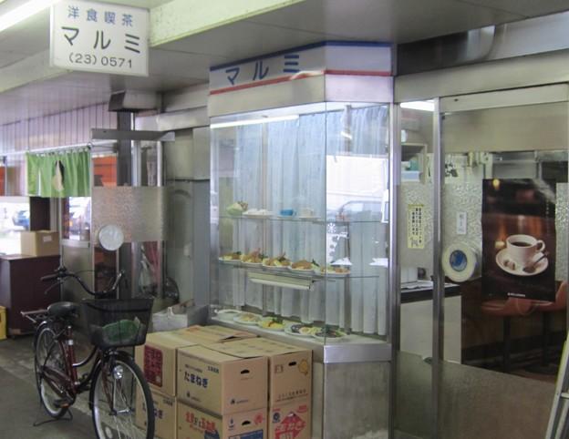 (閉店)洋食喫茶マルミ@船橋市場