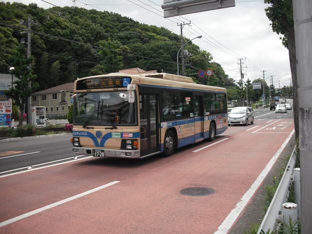 横浜市営0-1720号車(日野中央公園入口)
