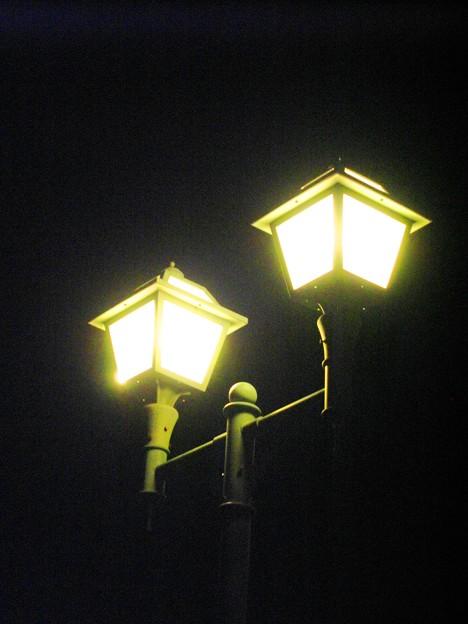 海岸通り公園の街灯