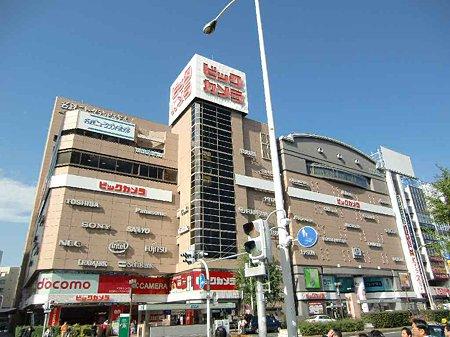 ビックカメラ名古屋駅西店 2003年11月7日 オープン7年 windows7発売初日-211022-1