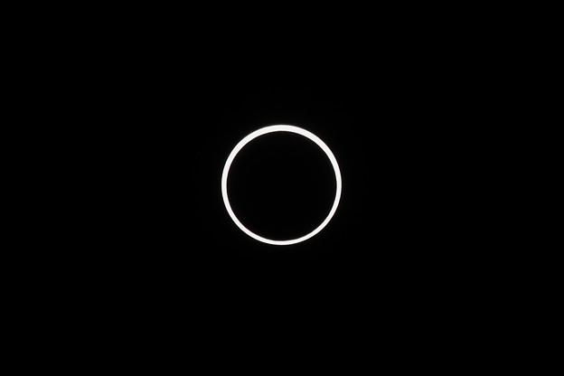 金環日食、撮ったど~!