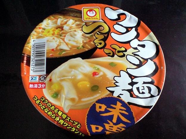 つるっとワンタン麺 味噌
