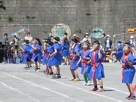 運動会 ソーラン節