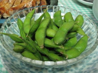 枝豆は美味しい秘伝豆