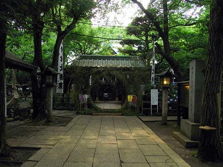 愛宕神社本殿へ