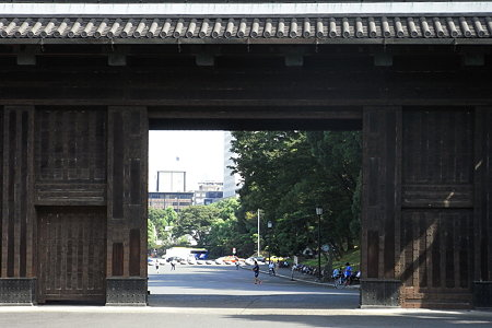 桜田門からの風景