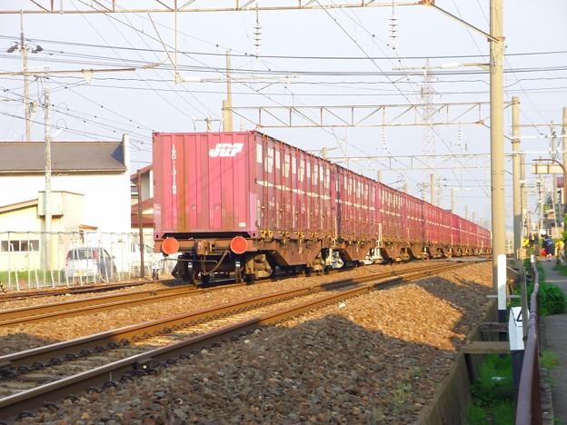 DE10-3510・牽引貨物列車 後追い