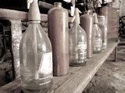 古い瓶たち
