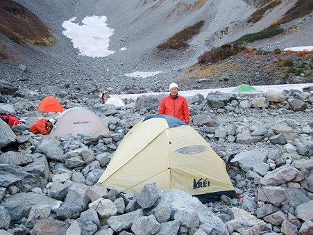ミノさんとEJ's tent