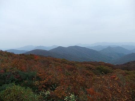 烏帽子山からの眺望