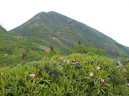 尾瀬・燧ヶ岳・ミノブチ岳からマナイタグラを望む