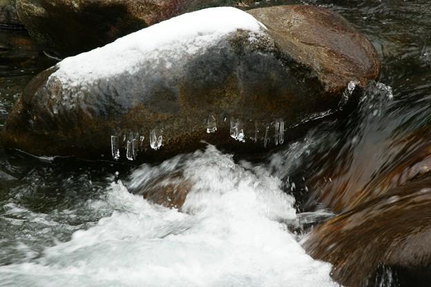 Photos: 氷の柱