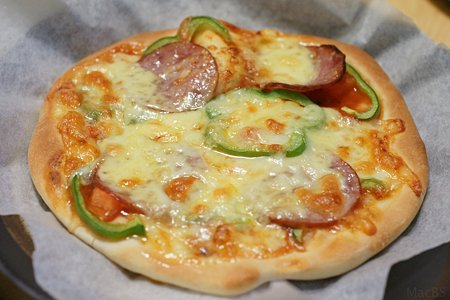 自家製ピザ、第2弾